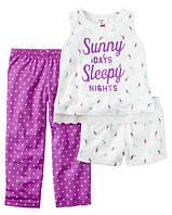 Пижама для девочки арт. 333G078 (Carters) 24М