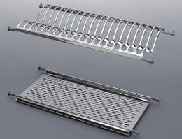 Сушка нержавейка для посуды 400 мм