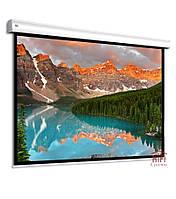 Крупноформатный моторизированный проекционный экран 450 х 338 см Adeo Alumid Vision White Pro диагональ 221,5