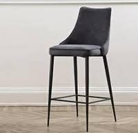 Современный барный стул Clara на ножках фабрики Bontempi