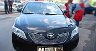 Хром накладки на решетку радиатора Toyota camry xv40 (Тойота Камри 40 кузов 2006г-2011г)