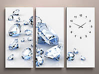 Настенные часы бриллианты