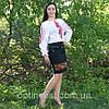 """Жіноча сорочка - вишиванка """"Ромби"""", фото 2"""