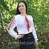 """Жіноча сорочка - вишиванка """"Ромби"""", фото 4"""
