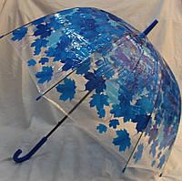 Зонт Для подростка трость полуавтомат Кленовые листья 18-3122-4