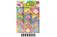 Кубик-рубик  (планшет 12шт.) 898С-3 /64/