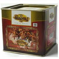 Чай Минхадж Minhaj Super Pekoe 200 гр в железной банке