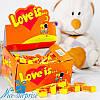 Жвачки LOVE IS... апельсин-ананас 100 шт.