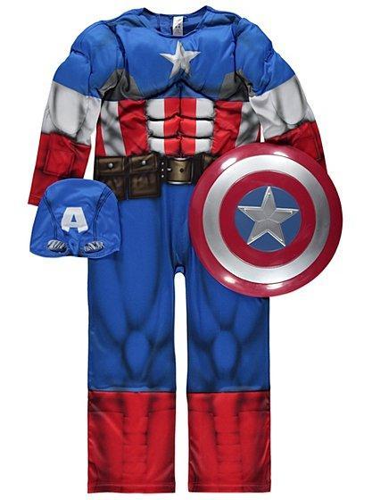 Капітан Америка (супергерой), карнавальний костюм, at George