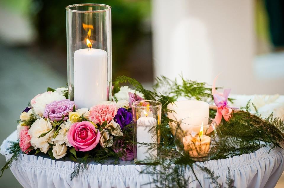 Оформления места проведения свадьбы. Декорирование выездной церемонии.