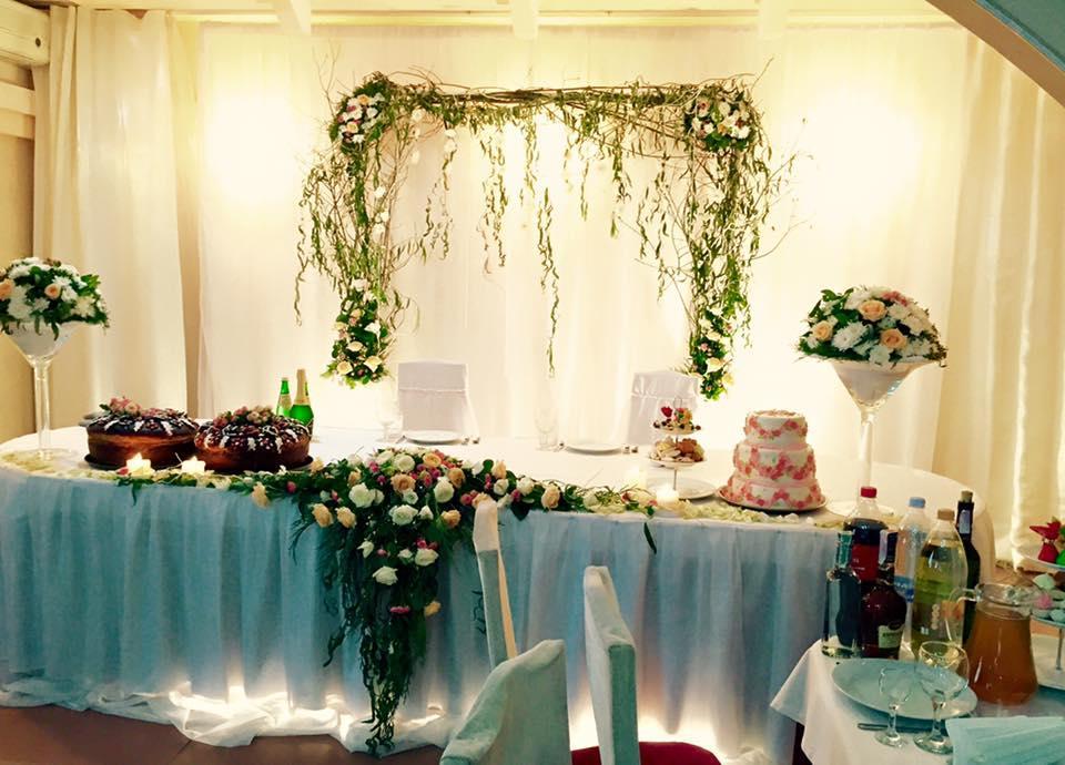 Оформления места проведения свадьбы. Декорирование выездной церемонии. 2