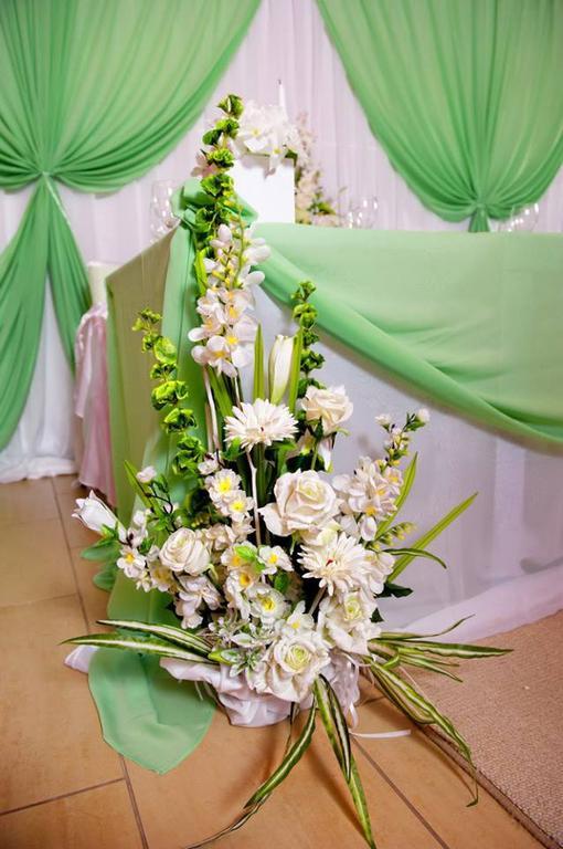 Оформления места проведения свадьбы. Декорирование выездной церемонии. 11