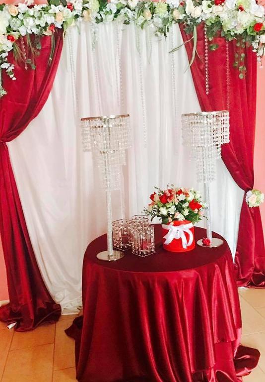 Оформления места проведения свадьбы. Декорирование выездной церемонии. 15