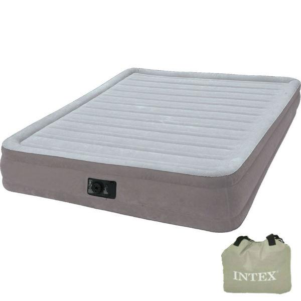 Надувная кровать со встроенным электрическим насосом 220В