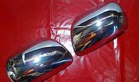 Хром накладки на зеркала (пластик) Toyota camry xv40 (Тойота Камри 40 кузов 2006г-2011г)