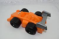 Машинка оранжевая игрушка