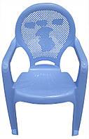Стул  детский Утенок №1 СТ030-А голубой