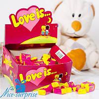 Жвачки LOVE IS... вишня-лимон 100 шт.