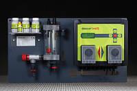 Станция дозации для бассейна Descon trol S - Свободный хлор / pH / t - Комплект оборудования