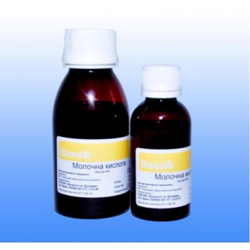 Молочная кислота 40% 1 л ветеринарное противобродильное, антисептическое, раздражающее средство