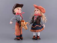 "Набор фарфоровых кукол ""Ковбои"" 485-080"