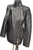 Женские куртки из искусственной кожи   № 1754