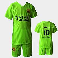 Футбольная форма ФК Барселона M16 для детей 6-10 лет оптом. Доставка из Одессы.