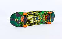 Скейтборд деревянный из канадского клена Fish Star 414-4: размер 31in