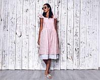 Женское летнее хлопковое платье P7024
