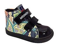 Ботинки Minimen 67BLACK р. 20 Черный лак