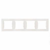SCHNEIDER Рамка цвет Слоновая кость Sedna, 4 поста, SDN5800723