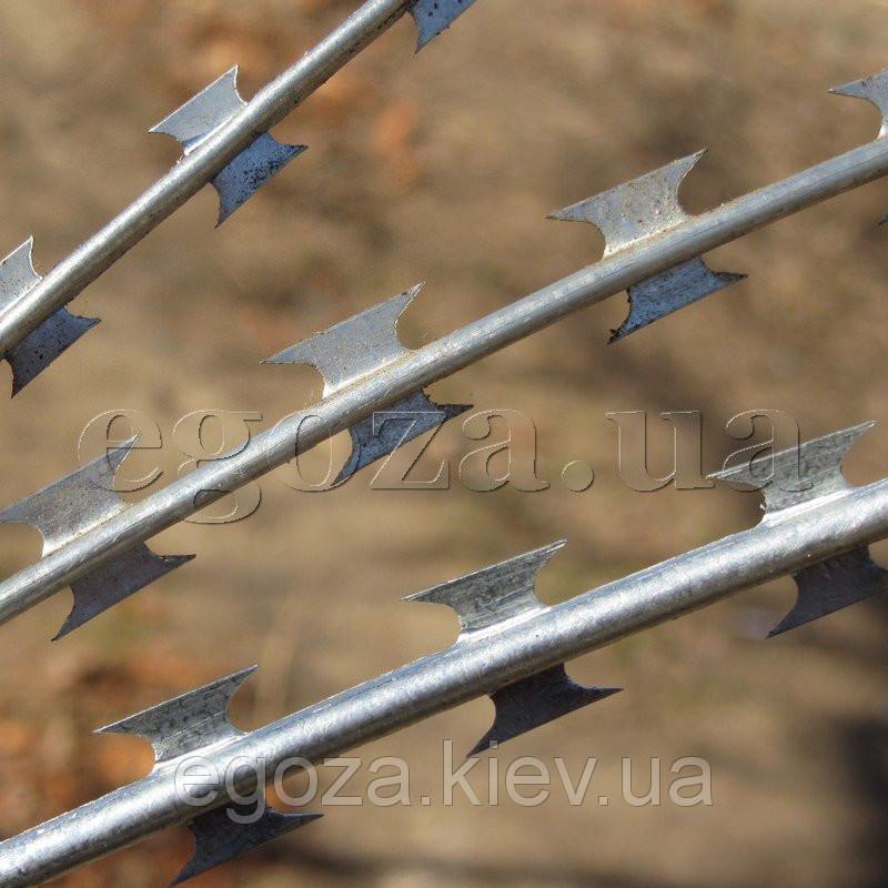 Колючая проволока Егоза Аллигатор 4,3 мм