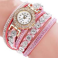 Женские часы-браслет со стразами French Rose