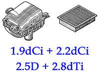 Двигатель 1.9dCi(F9Q) + 2.2dCi(G9T) + 2.5D(S9U) + 2.8dTI(S9W)