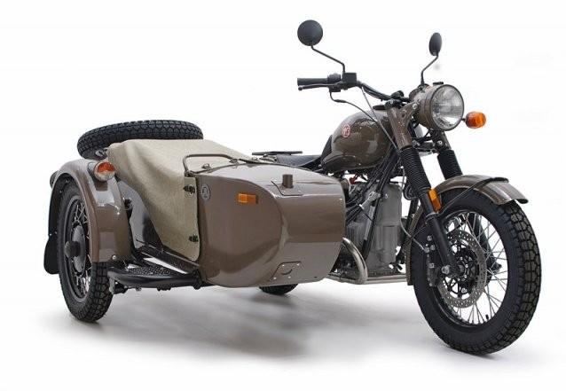 Специальная версия мотоцикла «Урал» к 70-летию компании.