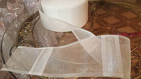 Тесьма шторная на карниз трубу, метр