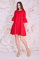 Кружевное Платье Красное Тиена Размер 42 вискоза- 48%; еластан - 52%
