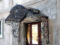 Козырек входной двери