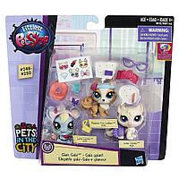 Лител Пет Шоп Зоомагазин набор фигурок Littlest Pet Shop Glam Gala