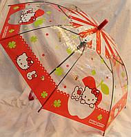 Зонт Детский трость полуавтомат Китти 18-3124-5