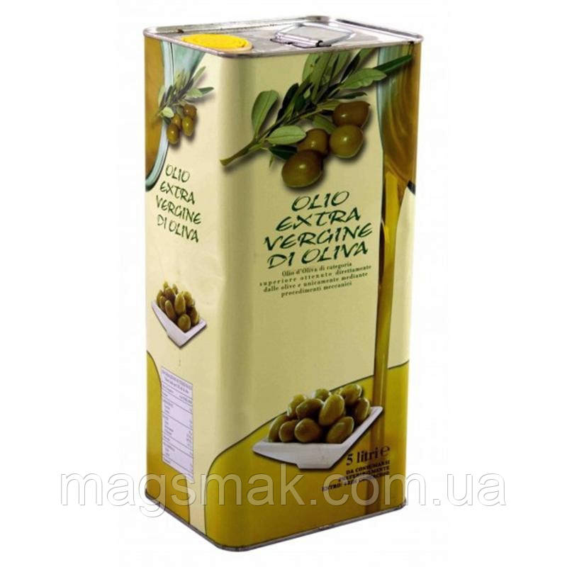 Оливковое масло Olio Extra Vergine di Oliva / Олио ди Олива, 5 л - Интернет-магазин «Смак» в Херсоне