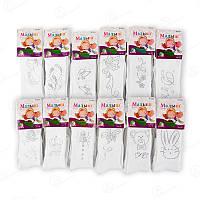 Колготки детские для девочки узорные с бамбуковым волокном Малыш C0814 (12 ед. в упаковке)
