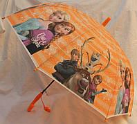 Зонт Детский трость полуавтомат Холодное Сердце 18-3125-2