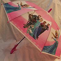 Зонт Детский трость полуавтомат Холодное Сердце 18-3125-3