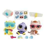 Лител Пет Шоп Зоомагазин набор фигурок Littlest Pet Shop Beachy Luau