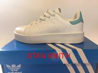 Кроссовки женские Adidas Stan smith белые