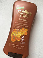 Лосьон для загара Hawaiian tropic Dark tanning lotion spf 4