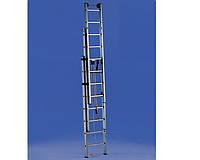 Лестницы и стремянки SVELT Трехсекционная лестница выдвигаемая тросом SVELT EURO E3F 3x14 ступеней