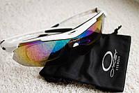 Велосипедные очки OKLEY White