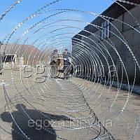 Егоза Аллигатор 1250/9 заграждение колюче-режущее спиральное